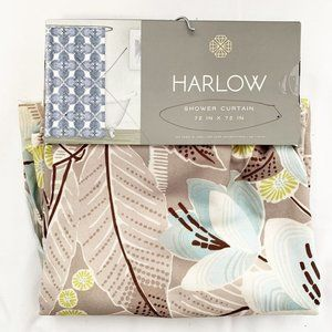 NEW Harlow floral shower curtain